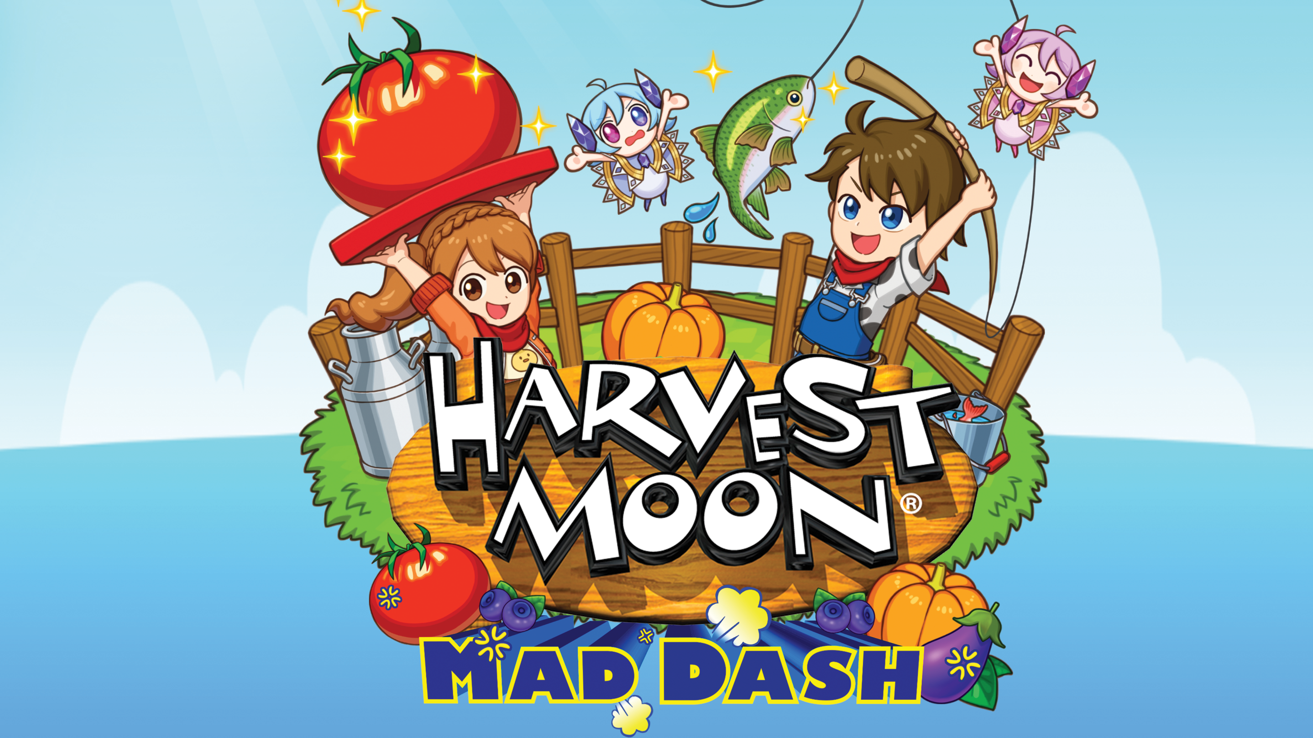 Harvest Moon: Mad Dash Arrives in Retail Stores Today in Europe